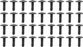 1970-81 Camaro / Firebird Roof Rail Weatherstrip Channel Screw Set, 36 Piece Set