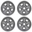 1970-81 Z28-STYLE 5 SPOKE STEEL WHEEL KIT (KIT OF 4)