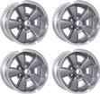 17 X 8 CAST ALUMINUM 5-SPOKE Z28 STYLE WHEEL SET