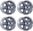17 X 9 CAST ALUMINUM 5-SPOKE Z28 STYLE WHEEL SET