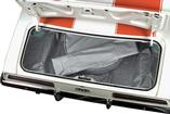 1974-81 Camaro/Firebird Gray/White Houndstooth Molded Vinyl Trunk Mat Kit with Space Saver Spare
