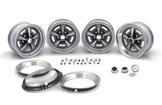 15 X 7 RALLY II WHEEL KIT BLACK