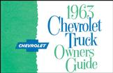 1963 Truck Owners Manual