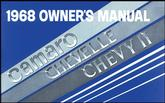 1968 Chevrolet Owner's Manual