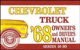 1968 TRUCK OWNERS MANUAL