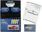 1991 Camaro Owner's Manual Portfolio with Cassette