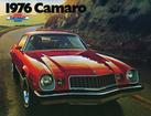 1976 CAMARO COLOR SALES BROCHURE