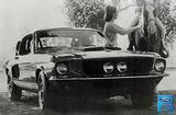 "1967 Mustang GT 500, 12"" x 18"" Vintage Photo"