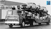 "Shelby Car Hauler 24"" x 36"" Vintage Photo"