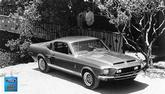 "1968 Mustang GT500 Fastback 24"" x 36"" Vintage Photo"