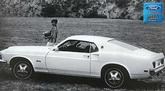 "1969 Mustang Fastback 12"" x 18"" Vintage Publicity Photo"