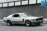 "1970 Mustang Boss 302 12"" x 18"" Vintage Photo"
