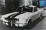 "1965 GT350 Shelby-Front View 12"" x 18"" Vintage Photo"