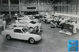 "1965 Shelby Assembly Production Warehouse 12"" x 18"" Vintage Photo"