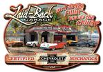"Laid-Back Chevrolet Dream Garage Sign - 15-1/2"" x 21-3/4"""