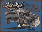 "Laid-Back 1957 Gasser Garage Sign (12"" x 16"")"