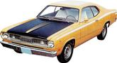 1971-72 Twister Duster  Hood Stripes