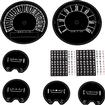 1966 Barracuda Formula S Rallye Gauge Decal Set With 150 Mph Speedo And Tachometer