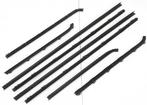 1967-69 Barracuda 2 Door Notchback 8 Piece Door Glass Weatherstrip Set
