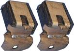 71-74 B-BODY EXHAUST TIP HANGERS PAIR