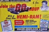 Join the Group with a Great New Hemi Ram 2' X 3'