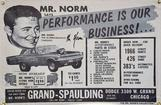 Mr Norm's Says Performance is Our Business 2' X 3'
