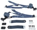 1967-73 Chevy II / Nova - 3 Point Seat Belt Set - Blue (Pair)
