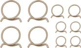 1966-69 Mopar A & B-Body With Small Block Hose Clamp Set