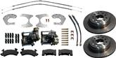 Mopar 8 3/4 And Dana 60 Rear Disc Brake Conversion Set With Parking Brake