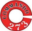 1964-67 VALIANT, CUDA COMMANDO 273 AIR CLEANER LID DECAL