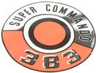 1966-70 PLYMOUTH SUPER COMMANDO 383 AIR CLEANER LID DECAL