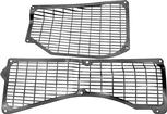 1970-71 Mopar E-Body Cowl Vent Grill Assembly ; Pair
