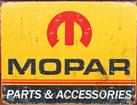 16 X 12-1/2 1964-71 MOPAR PARTS AND ACCESSORIES TIN SIGN