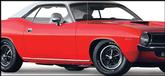 1973-74 Plymouth Barracuda / 'Cuda Rocker Panel Moldings
