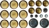 Mopar 273-360 Milodon Brass Freeze Plug Set