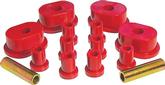 1973-74 MOPAR B / E-BODY  RED POLYURETHANE SPRING/SHACKLE BUSHING SET (OVAL, 5/8, 1)