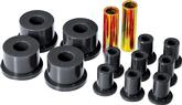 1960-76 Mopar A-Body Black Polyurethane Spring / Shackle Bushing Set (2 / 5/8 / 7/8)