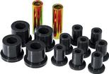 1960-76 Mopar A-Body Black Polyurethane Spring / Shackle Bushing Set (1-1/2 / 5/8 / 7/8)