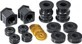 1973-74 MOPAR B-BODY BLACK POLYURETHANE TORSION BAR CROSSMEMBER MOUNT BUSHING SET