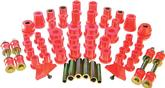 1962-76 Mopar A / B / E-Body Complete Red Polyurethane Bushing Set