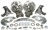1963-74 Mopar B / E-Body Manual Front Drum to Manual Disc Brake Conversion Set