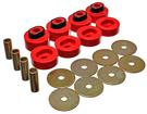 1972-78 Mopar B-Body Polyurethane Body Mount Bushing Set - Red