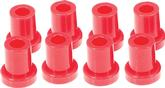 1973-74 MOPAR B-BODY RED 1 POLYURETHANE SHACKLE  BUSHING SET