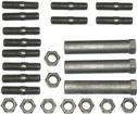 1962-65 Mopar Street Wedge Engine - Exhaust Manifold Fastener Set (OE Style)