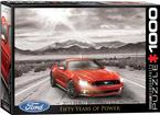 50 Years Of Power - 1000 Piece Ford Mustang Puzzle