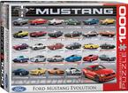 1000 Piece Ford Mustang Evolution Puzzle