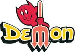 1971-1972 DEMON REFLECTIVE FENDER NAME DECAL