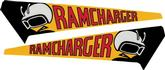 1971 CHARGER RT / SUPER BEE RAMCHARGER AIR DOOR DECALS