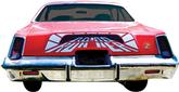 "1975 Road Runner ""Tunnel"" Deck Lid Decal"