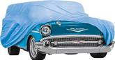 1957 Chevrolet 2 & 4 Door Wagons   Blue Weather Blocker Car Cover